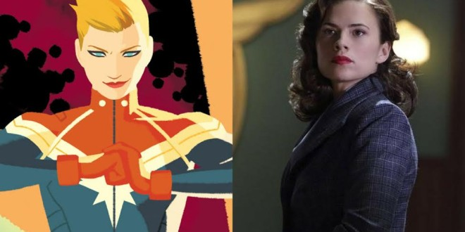 Agent Carter Captain Marvel
